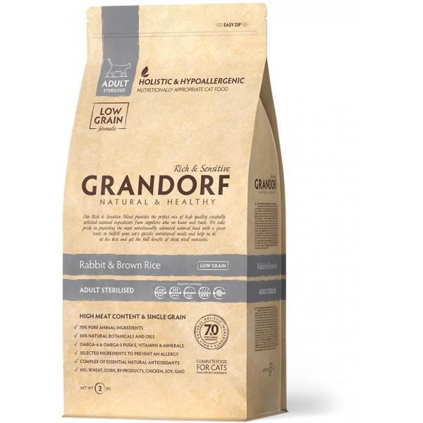 Grandorf - Кролик с рисом Sterilised