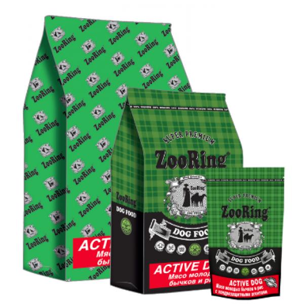 Mini Active Dog (Мини Актив Дог)  мясо молодых бычков  и рис