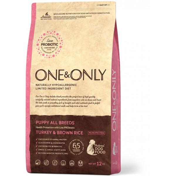 One&Only - Индейка с рисом Щенки