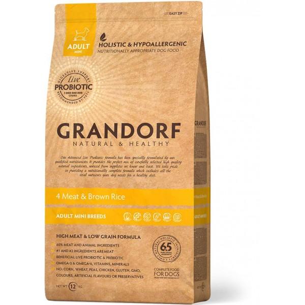 Grandorf - 4 Мяса с рисом Мини
