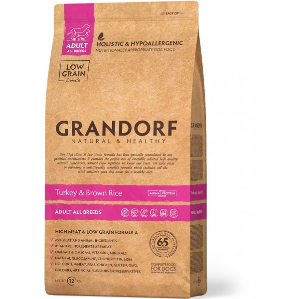 Grandorf - Индейка с рисом Все породы