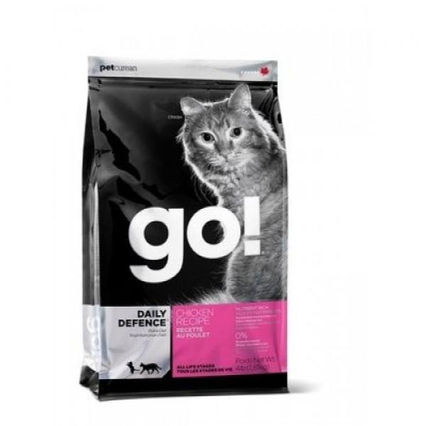 GO!NATURAL корм для котят и кошек с цельной курицей, фруктами и овощами