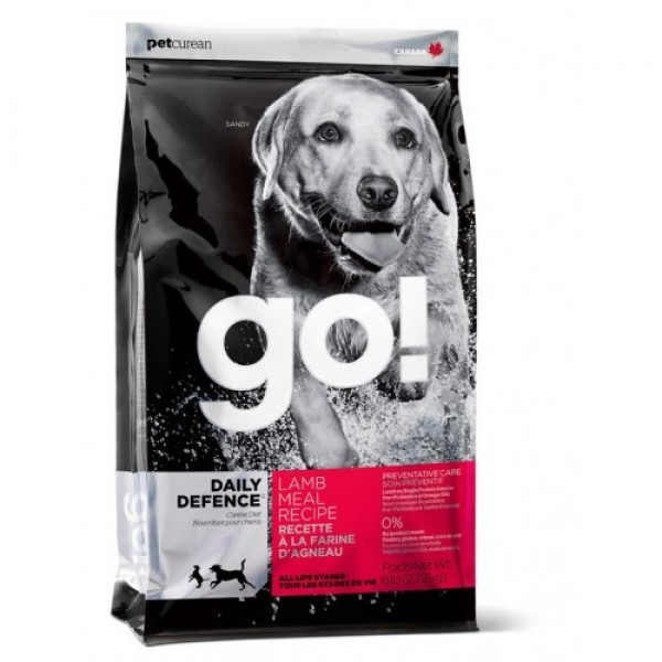 GO!NATURAL корм для щенков и собак со свежим ягненком
