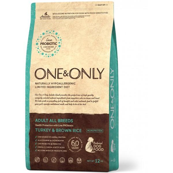 One&Only - Индейка с рисом Все породы