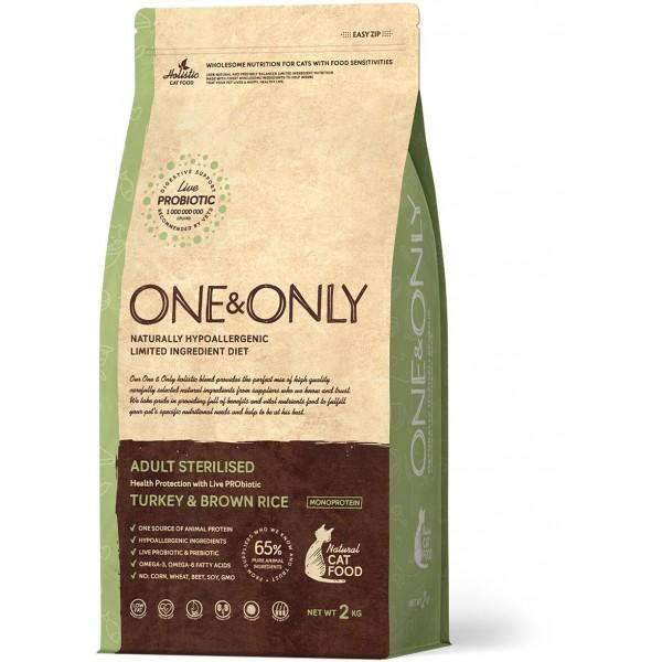 One&Only - Индейка с рисом Sterilised