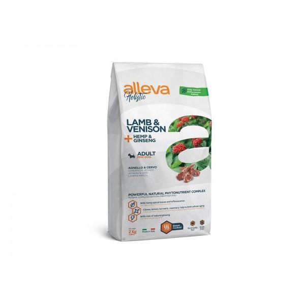 Alleva Holistic для собак мелких пород с ягненком и олениной (Lamb & Venison Adult Mini)