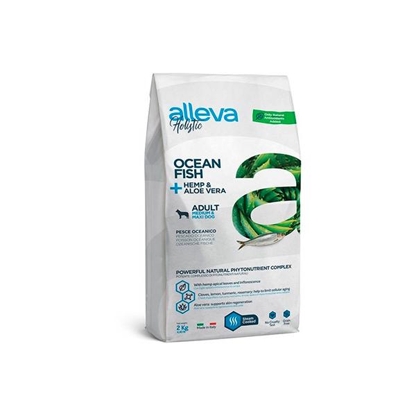 Alleva Holistic для собак средних и крупных пород с океанической рыбой (Adult Ocean Fish Medium/Maxi)