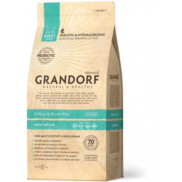 Grandorf - 4 Мяса с рисом Indoor