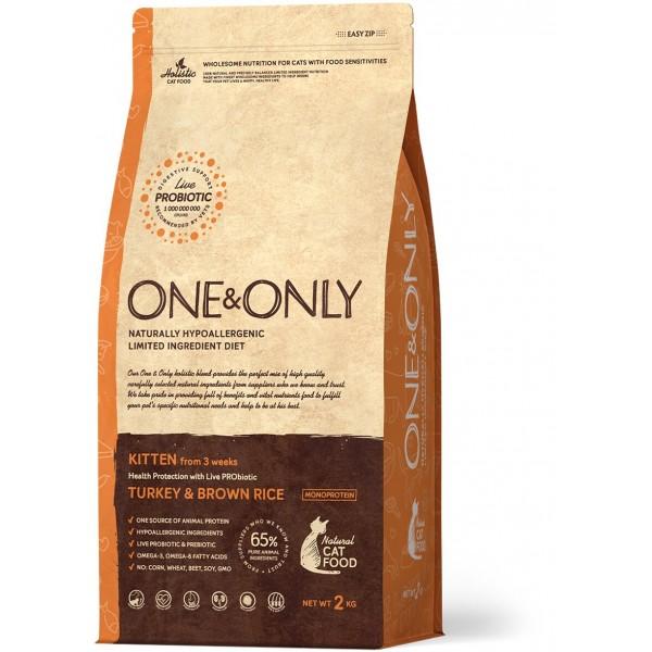 One&Only - Индейка с рисом Kitten