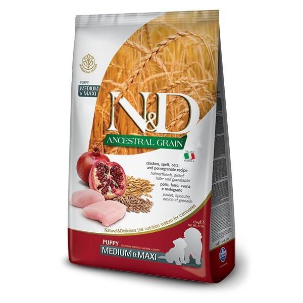 Farmina N&D Chicken & Pomegranate Puppy Medium & Maxi