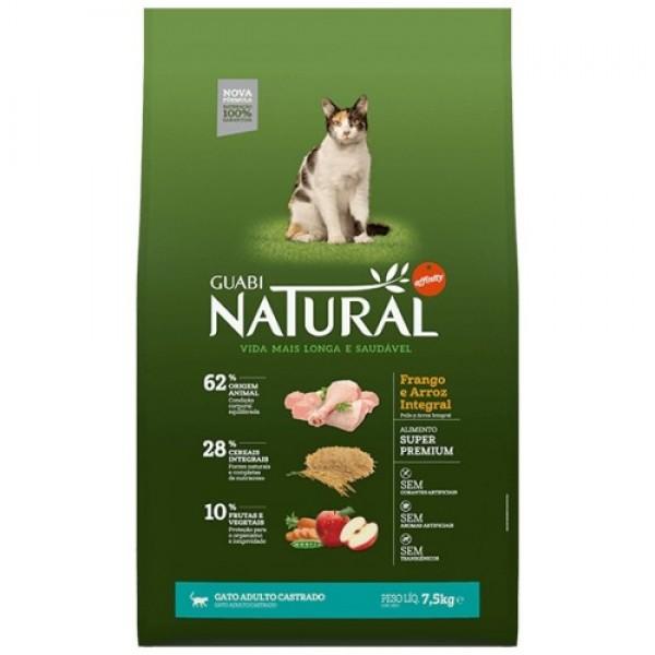 Guabi Natural для кастрированных кошек с цыпленком и коричневым рисом