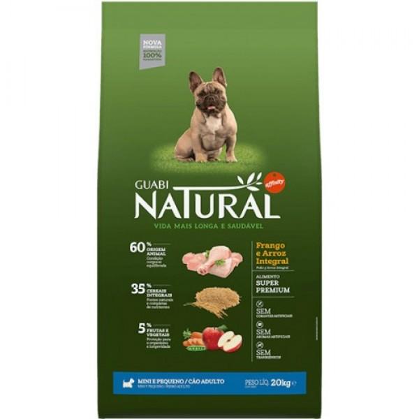 Guabi Natural для взрослых собак мелких пород с цыпленком и коричневым рисом