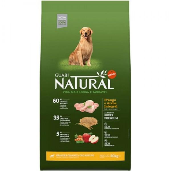 Guabi Natural для взрослых собак крупных пород с цыпленком и коричневым рисом