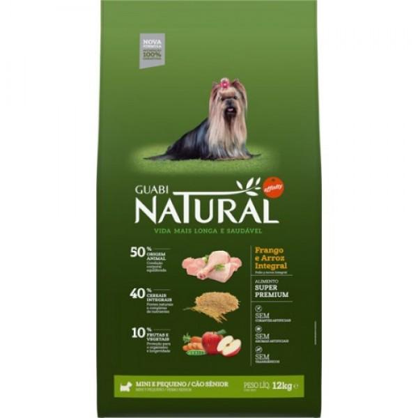 Guabi Natural для пожилых собак мелких пород с цыпленком и коричневым рисом