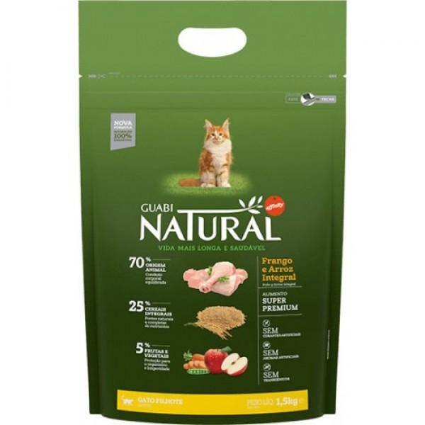 Guabi Natural для котят с цыпленком и коричневым рисом