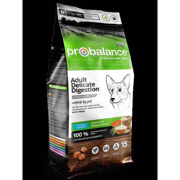ProBalance Delicate Digestion с лососем и рисом для собак с чувствительным пищеварением