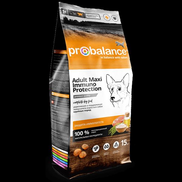 ProBalance Immuno Adult Maxi для взрослых собак крупных пород