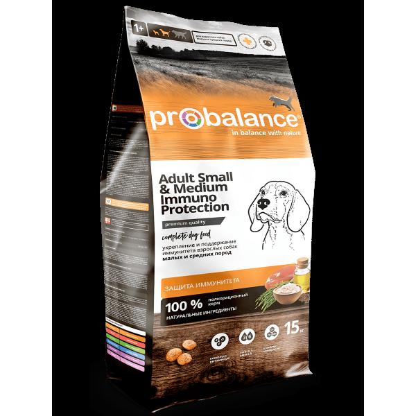 ProBalance Immuno Adult Small and Medium для взрослых собак малых и средних пород