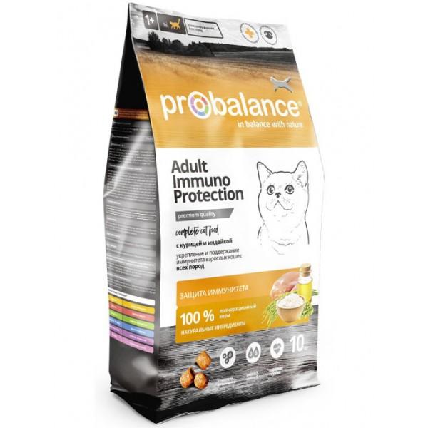 ProBalance Immuno для кошек с курицей и индейкой
